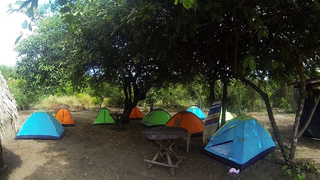 Surfing Turtle Lodge Tents